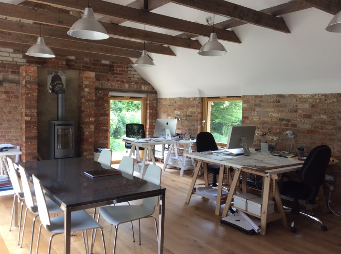 The vast space we have in the studio along with the stunning natural light we receive makes for a quintessential office.