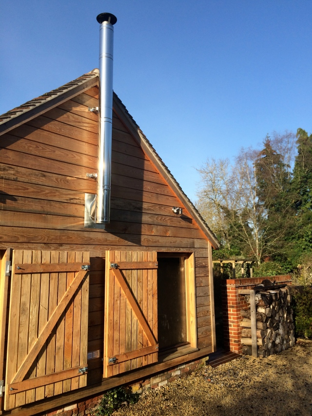The stunning wooden exterior of our new offices is completely complementary of the New Forests glorious surroundings