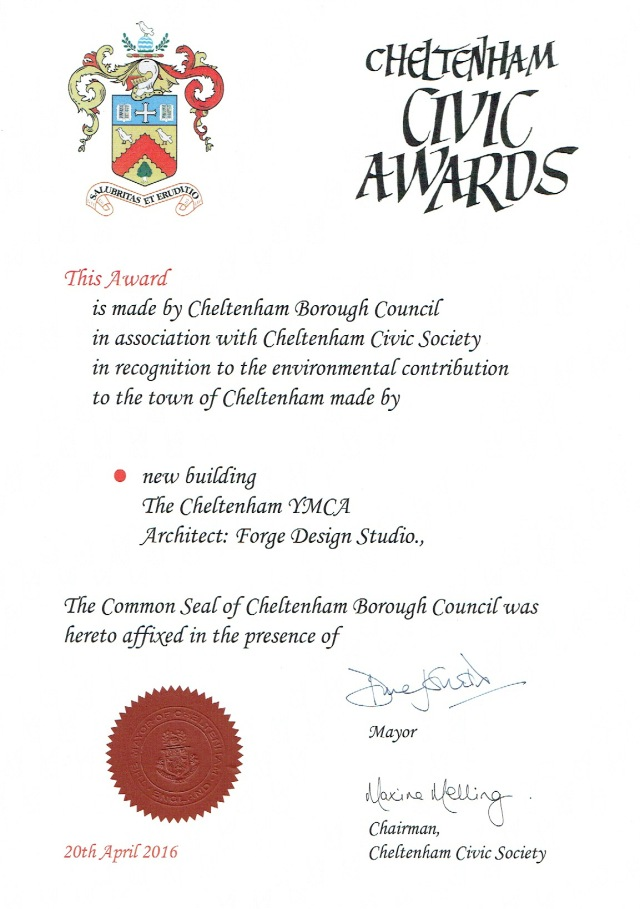 Cheltenham Civic Awards